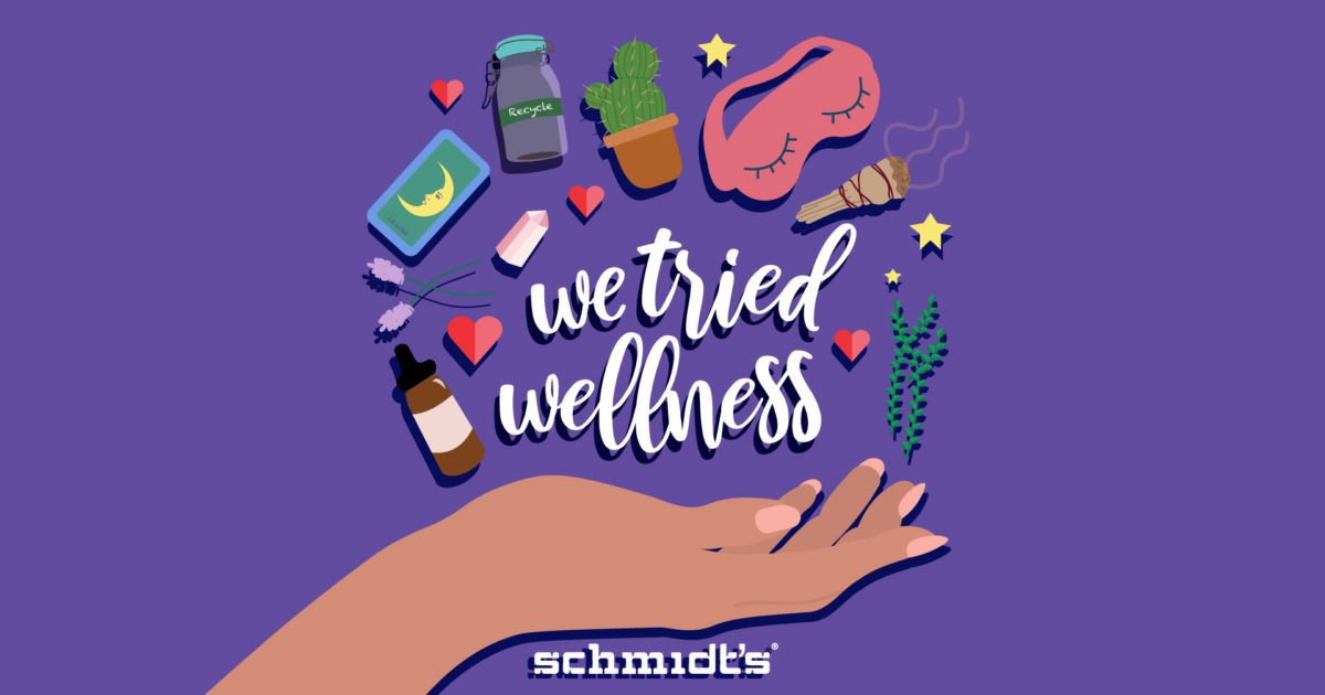 We Tried Wellness Podcast: We Tried Tarot   The Natural Mag – Schmidt's